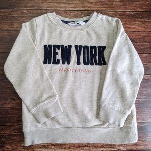 H&M New York Varsity Sweatshirt